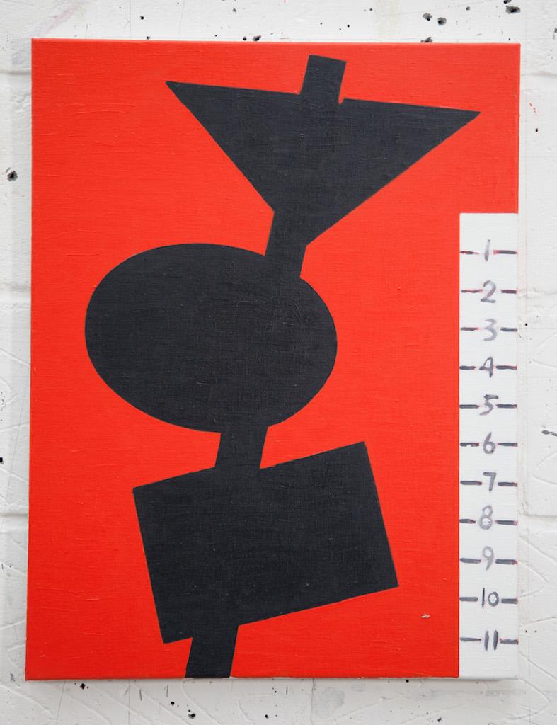 """Street Shadow, 2013, oil on canvas, 20"""" x 26"""""""