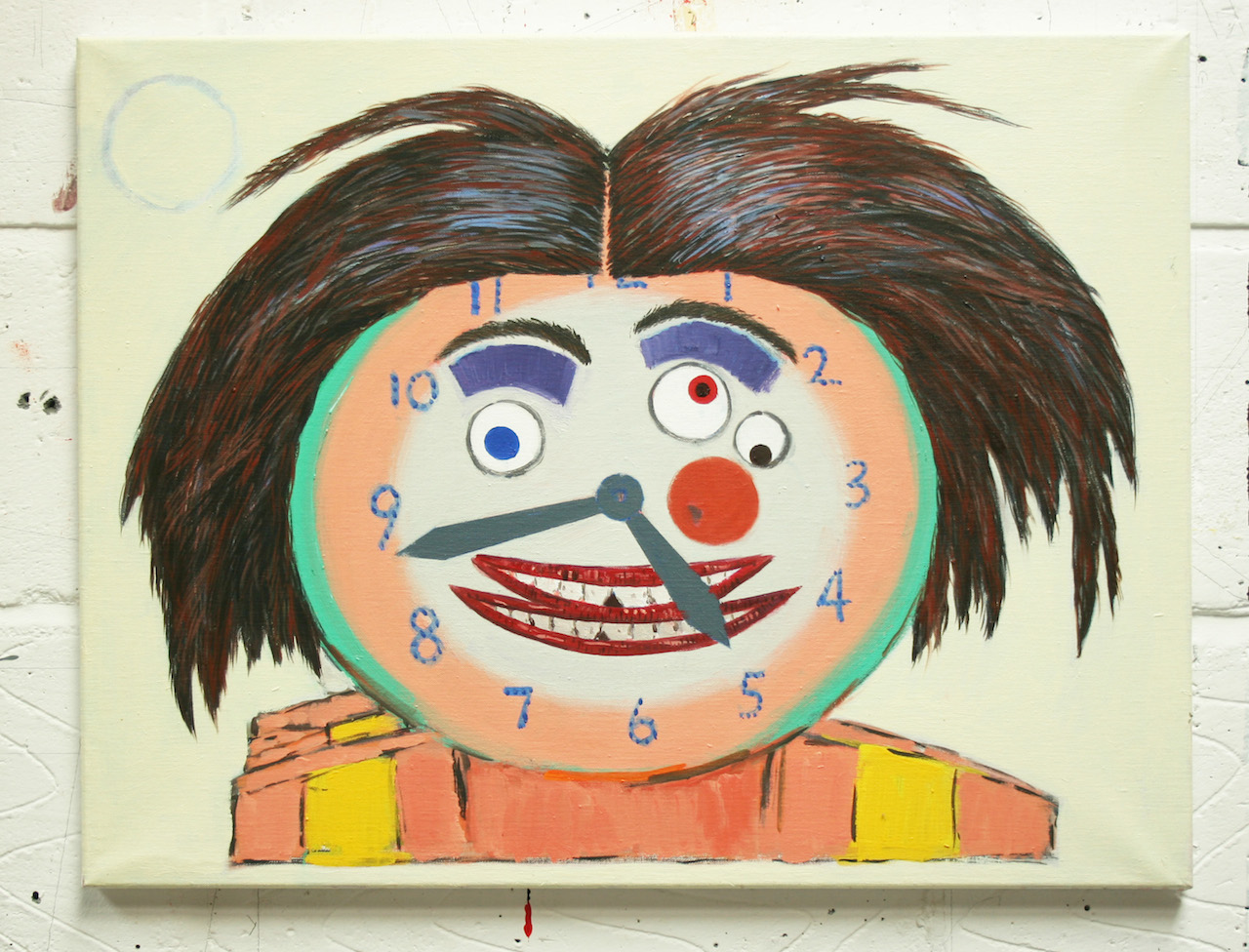 "The Author, 2013, oil on canvas, 20"" x 26"""