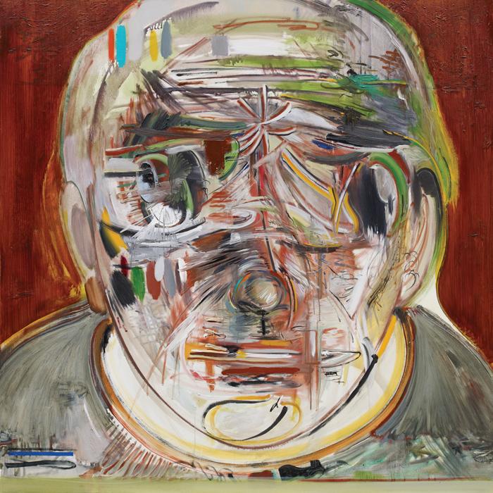 Quantity, 2011, oil on canvas, 130x130cm