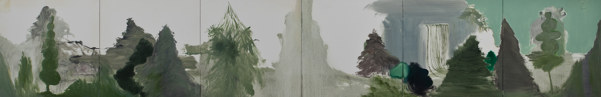 Module 01-06, 2011, oil on canvas,455.5x273cm