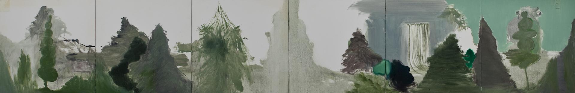 Module 01-06, 2011, oil on canvas,455.5x273cm