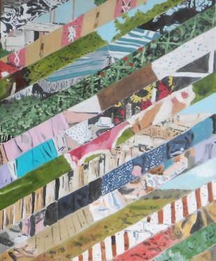 Michel Castaignet, Résumé des Episodes Précédents 3, 92 x 73cm, oil on canvas