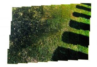 Shutter, 2015,  mixed media, 152 x 214 cm